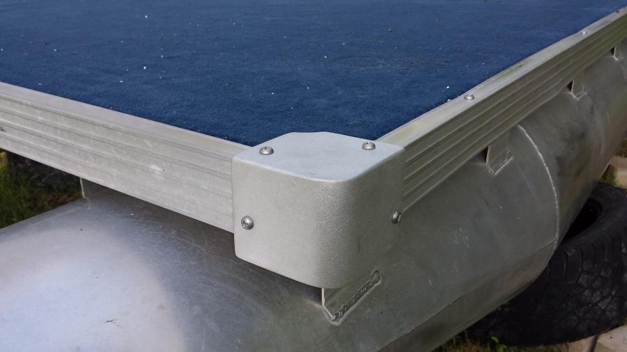 pontoon boat deck edge trim